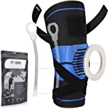 Fyore Knee Brace Compression Sleeve,Knee Braces for Men & Women with Side Stabilizers & Patella Gel Pads & Straps for…