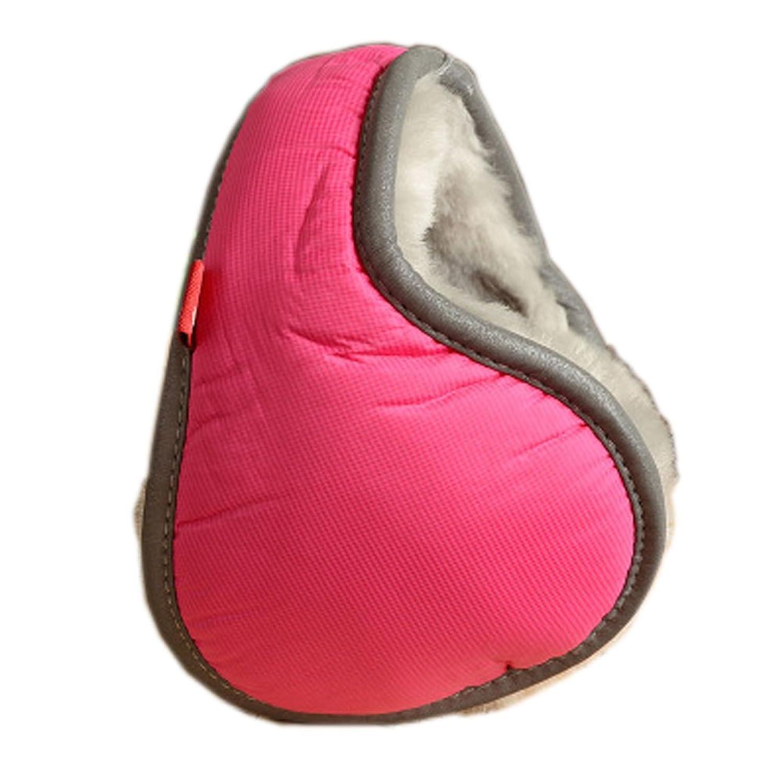 Warm Plüsch Ohr-Wärmer Faltbare Earmuffs für Outdoor-Skifahren, Rose
