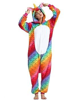 Kenmont Unicornio Pijamas Trotar Trajes Chándal Ropa Deportiva Unisexo Adulto Traje Disfraz Animal Pyjamas Cosplay Carnaval
