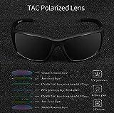 DEAFRAIN Polarized Sunglasses for Men Sports