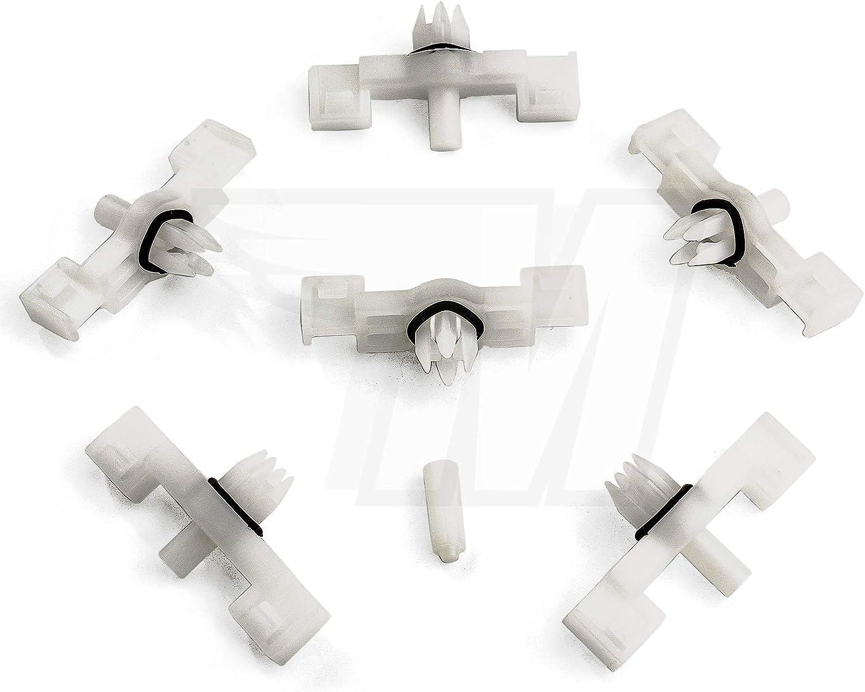 7L0853547A 15 clips de fijaci/ón con junta