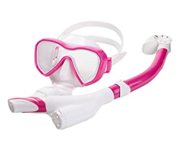 snfgoij Máscara De Buceo Niños Trajes De Snorkel Máscara Anti-Niebla Todo El Equipo De