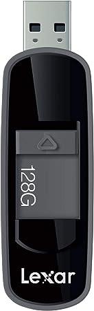 Black LJDS75-128ABBKNA Lexar Jumpdrive S75 128GB USB 3.1 Flash Drive