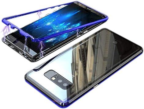 JUNHENG Funda Samsung Galaxy Note 8, Magnética Adsorption ...