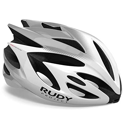 Rudy Project Rush - Casco de Bicicleta - Gris/Blanco 2019: Amazon.es ...
