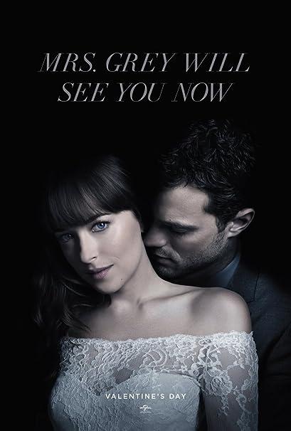 Fifty Shades Freed Movie Poster 2 Sided Original Advance Ver B 27x40 Dakota Johnson Jamie Dornan