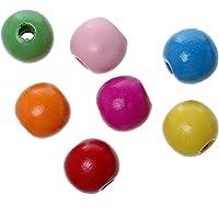 SiAura Material 200Unidades Madera de Arce Perlas 11x