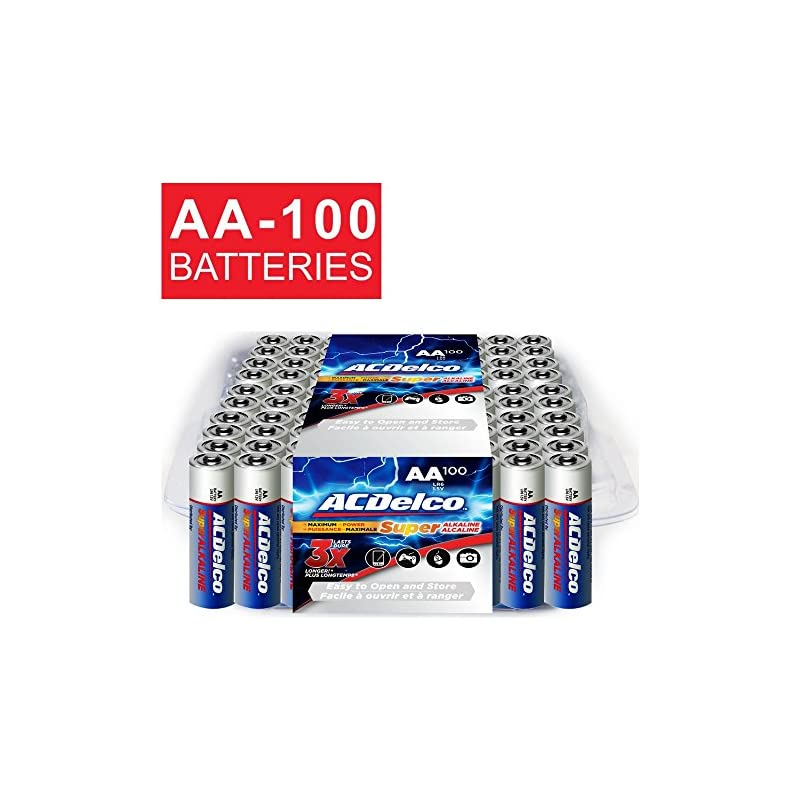 ACDelco AA Batteries, Alkaline Battery,