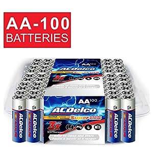 Amazon.com: ACDelco AA Super Alkaline Batteries in