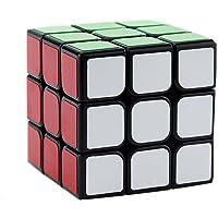 Three Horses 3*3  Cube Smooth Feel Good Speed Black 5.6 * 5.6 * 5.6CM