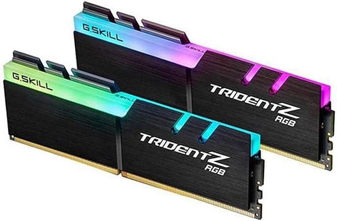 G.Skill F4-3200C16D-16GTZRX - kit de memoria DDR4 16GB (2x8GB) TridentZ RGB for AMD 3200MHz CL16 XMP2