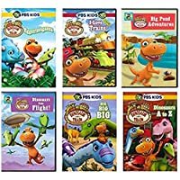 Ultimate PBS Dinosaur Train 6-DVD Learning Collection: Eggstravaganza / What's at the Center of the Earth? / I love Trains / Dinosaur Big City / Big, Big, Big / Dinosaur A TO Z