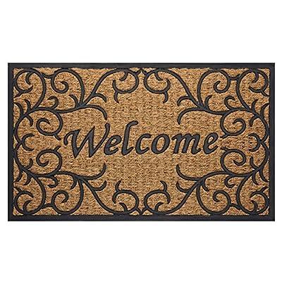 Achim Coco Mat Vines Entryway Doormat