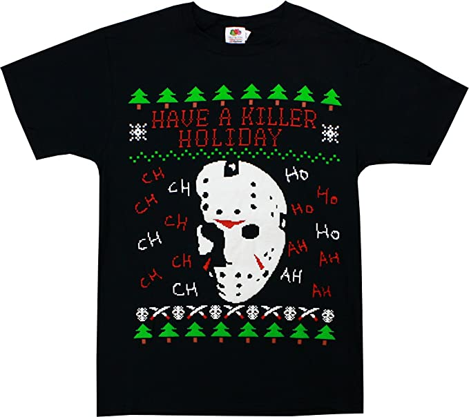 Friday the 13th Jason Voorhees Have A Killer Holiday Christmas Xmas T-Shirt