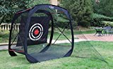 7'x7'x4' Golf net   golf hitting net  golf driving net golf training net for indoor&outdoor  portable golf driving netting with target