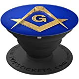 Masonic Square & Compass Freemason Lodge Emblem PopSockets Grip and Stand for Phones and Tablets