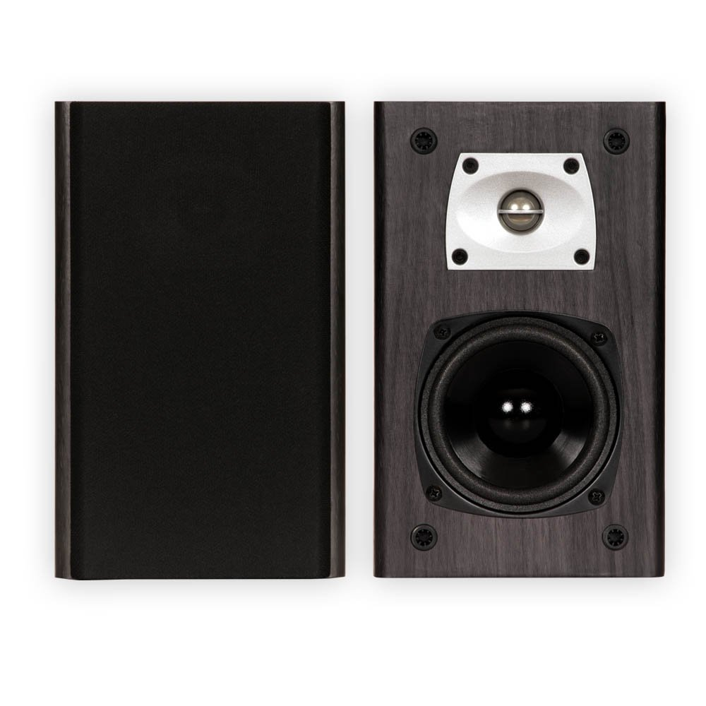 Parlante : Theater Solutions B1 Black Bookshelf Speakers...