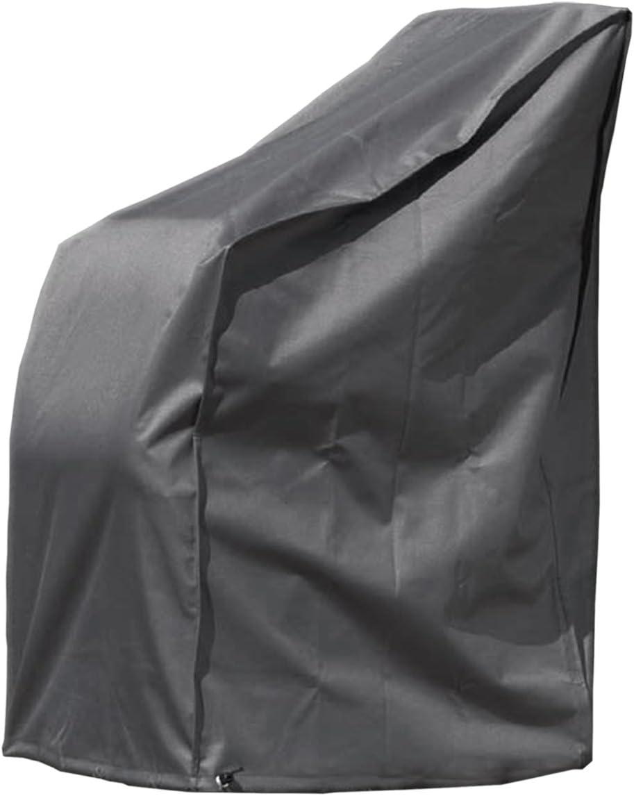 MONKEY MOUNTAIN® Funda Protectora Deluxe para hasta 4X Silla de jardín/Silla apilable/Silla de salón con Bolsa de Transporte - 65 x 65 x 120/80 cm - poliéster Oxford 420D