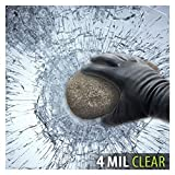 BDF S4MC Window Film Security and Safety Clear 4 Mil (60in X 100ft)