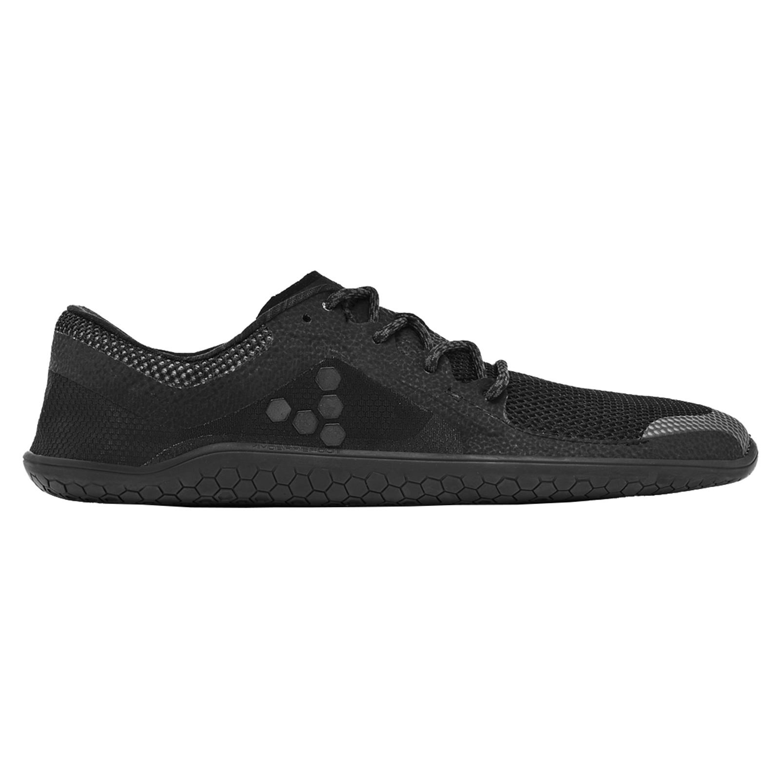 Vivobarefoot Women's Primus Lite Running Trainer Shoe, All Black, 39 D EU (8 US)