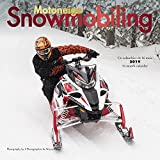 Snowmobiling 2019 12 x 12 Inch Monthly Square Wall Calendar by Wyman, Winter Snow Motor Sport (English and French Edition)