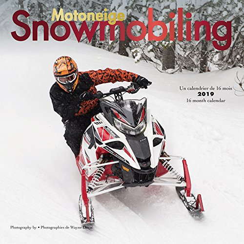 Snowmobiling 2019 12 x 12 Inch Monthly Square Wall Calendar by Wyman, Winter Snow Motor Sport (English and French Edition) by BrownTrout Publishers