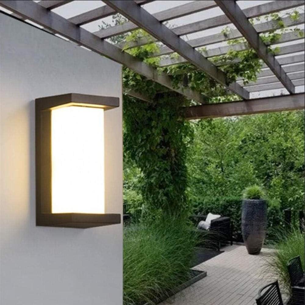 GYBYB 30W LED Luz de pared Impermeable Luz de porche Lámpara de ...