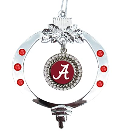 Amazon.com : University of Alabama Christmas Ornament : Sports ...
