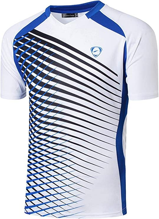 jeansian Hombres Deportes Camisetas Mens Sport tee Shirt Tshirt T-Shirt Dry Fit LSL189: Amazon.es: Ropa y accesorios