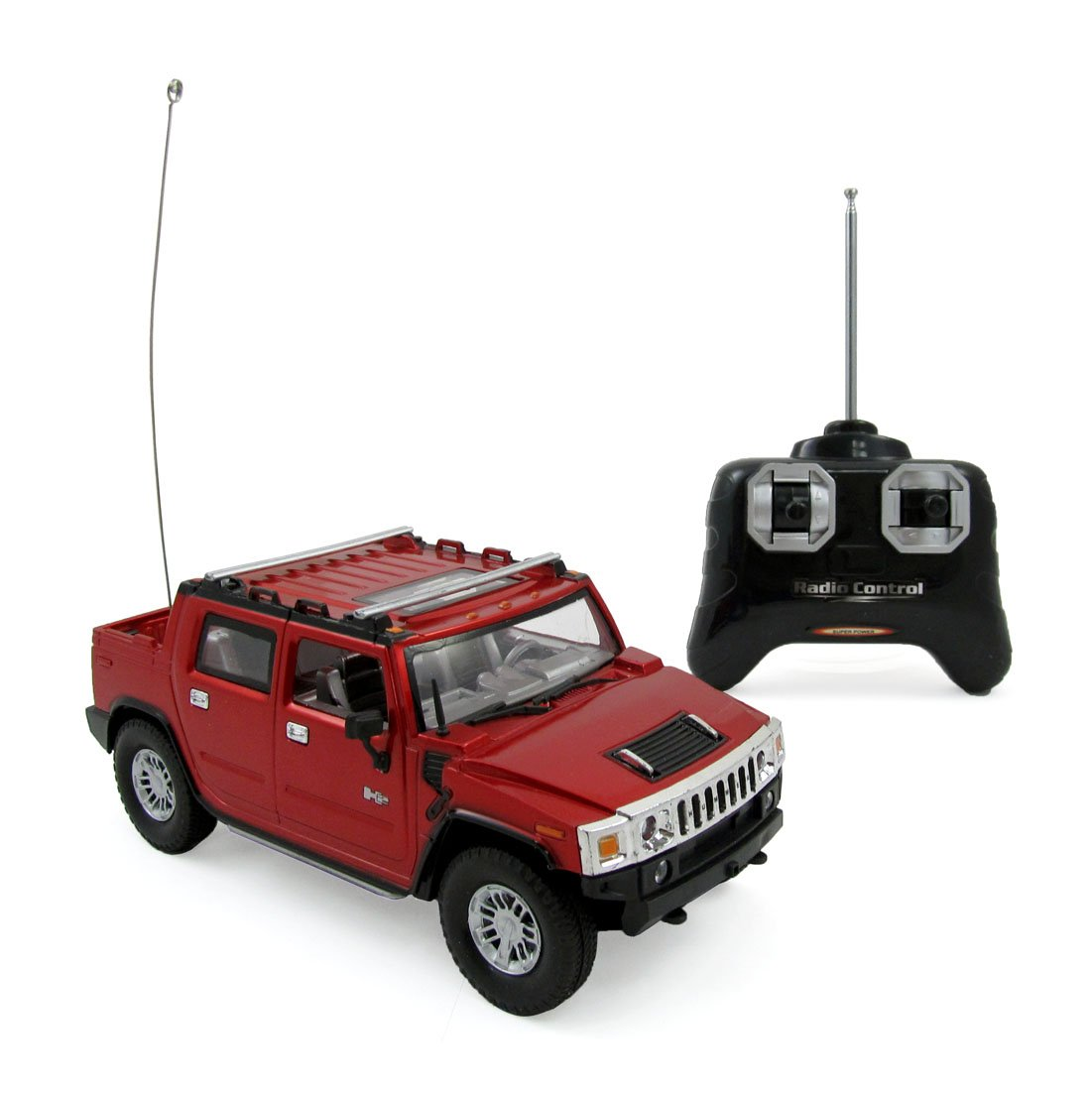 Liberty Imports Hummer H2 Suv Full Function R C Radio And Are More Functional Than A Basic 4 Or 5 Channel Rc Transmitter Remote Control Car 124 Scale Sut Red Blue Toys Games
