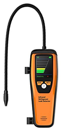 Elitech ILD-100 Detector de Fugas de Refrigerante Avanzado Halógeno Probador de Fugas Recargable de