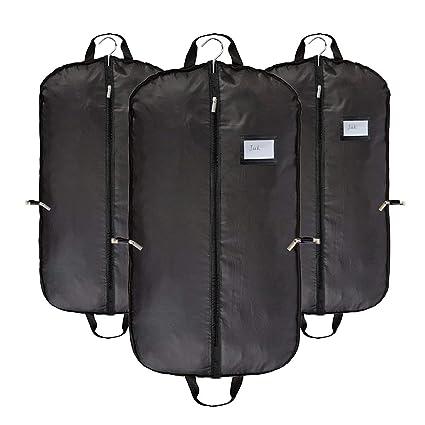 68415a7abc Abimars, borsa porta abiti da viaggio traspirante, copertura di protezione  nera per vestiti,