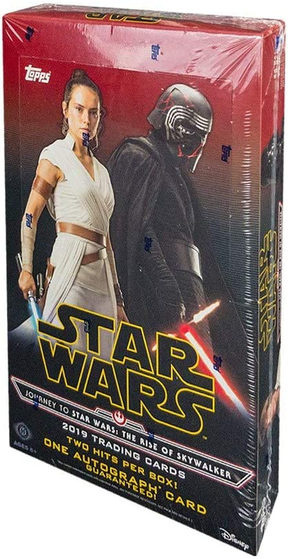 Amazon Com 2019 Topps Star Wars Journey To Episode 9 The Rise Of Skywalker Hobby Box Sports Collectibles