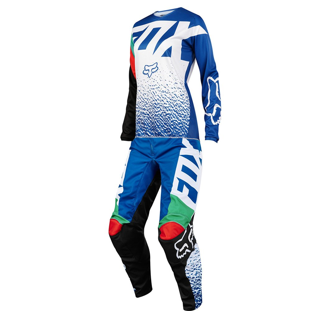 Fox Racing Womens 180 Blue Jersey/ Pant Combo - Size SMALL/ 6W