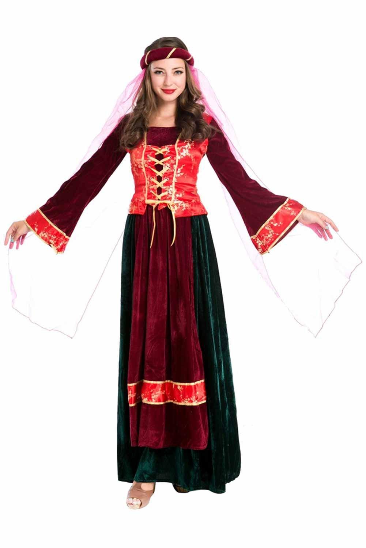 Arabische Prinzessin Kleid Cosplay Kostüm Rot