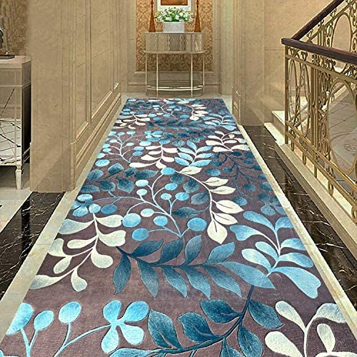 Xudongliu Narrow Rug Runway Carpet Floor mat Doormat Non-Slip mat Strip 3D Come in Corridor Stair Carpet Aisle Washable (Color : C Size : 110200CM)