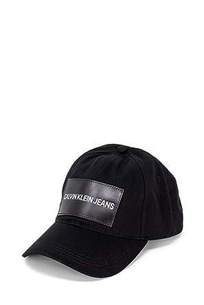 Calvin Klein K40K400863 CKJ CAP SOMBRERO Unisex NEGRO UNI: Amazon ...