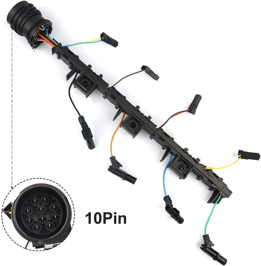 Adaptateur 4 cylindres TDI Kit de pompe avec pompe 2.0 TDI 170 CV TDI pour faisceau de c/âbles Buse de pompe Moteur 03G971033M