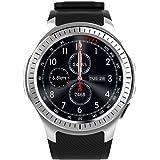 Kivors Orologio Intelligente, L1 Bluetooth Smartwatch con Slot per Scheda SIM/TF, Funzione Pedometro, Sonno Monitor, Telecamera Remota, Monitoraggio della Frequenza Cardiaca per Android e IOS