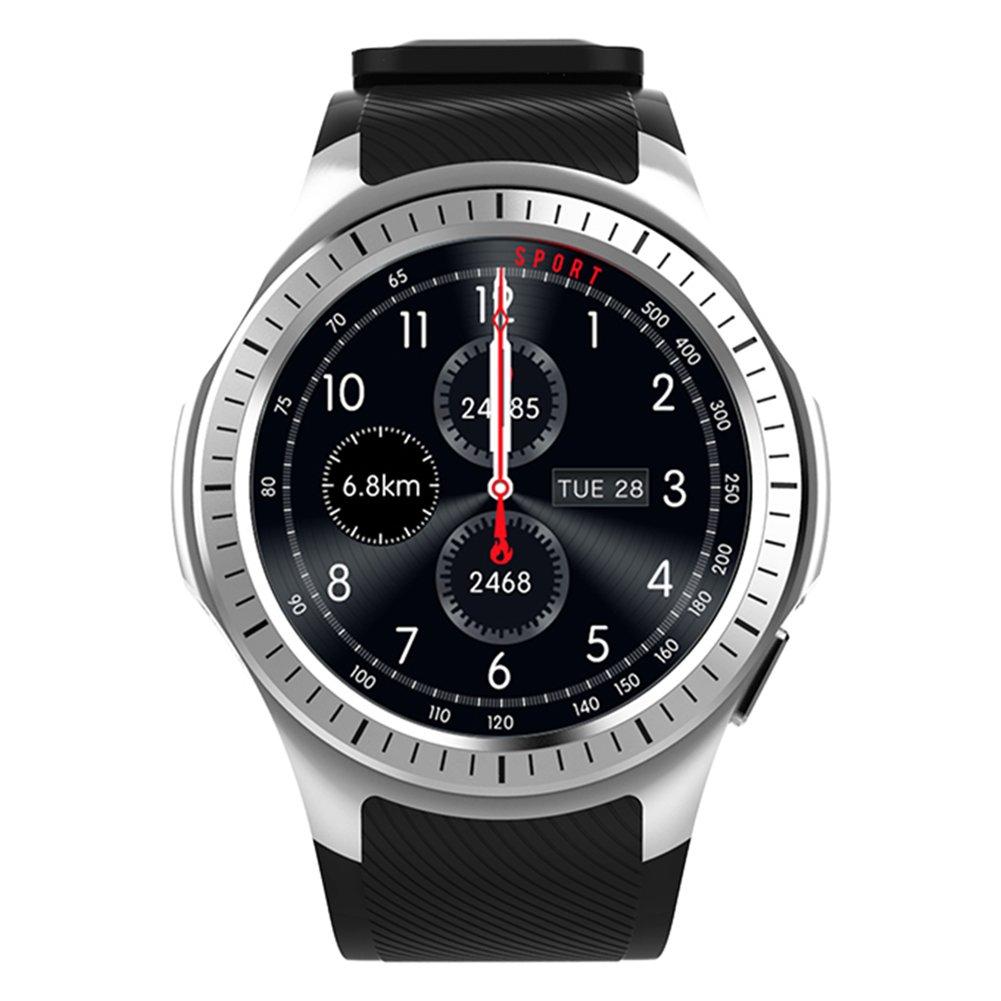 Kivors Reloj Inteligente L1 Bluetooth Smartwatch 1.3 Pulgadas Redondo HD...