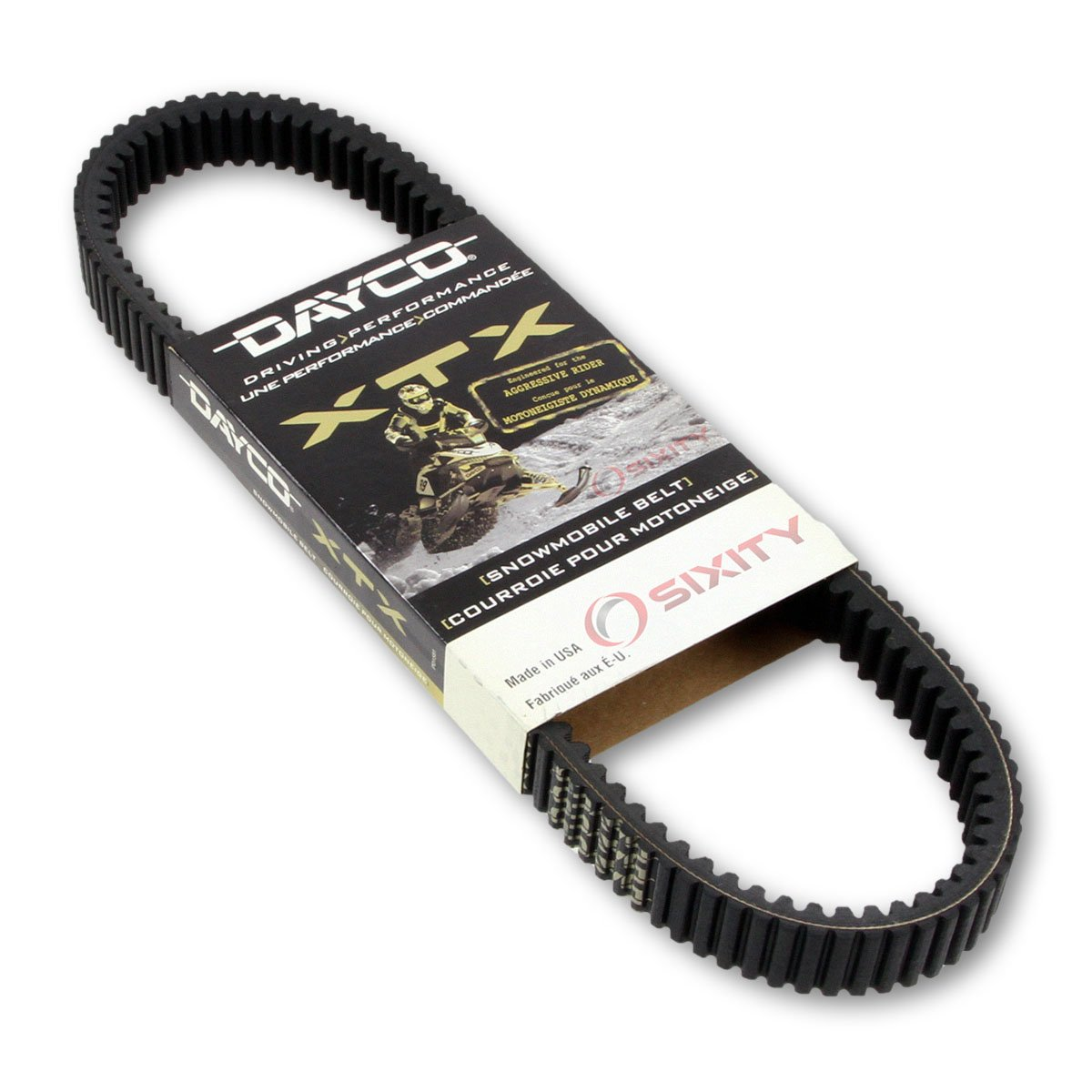 2011-2015 Polaris 800 SwitchBack Assault 144 Drive Belt Dayco XTX Snowmobile OEM Upgrade Replacement Transmission Belts