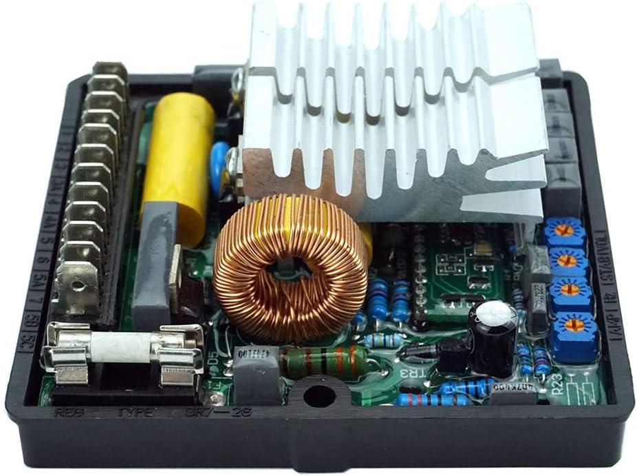 Lanceasy SR7 AVR Regulador de tensi/ón autom/ático para sistema de control multifunci/ón del generador