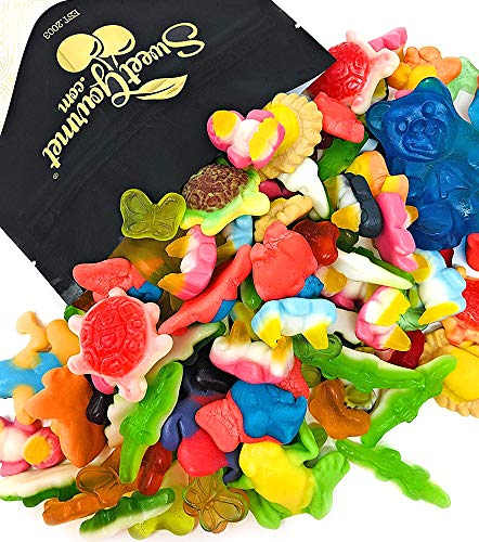 SweetGourmet Day At The Zoo | Gummi Candy Animals | Gummy Candies Bulk Unwrapped | 2 Pounds