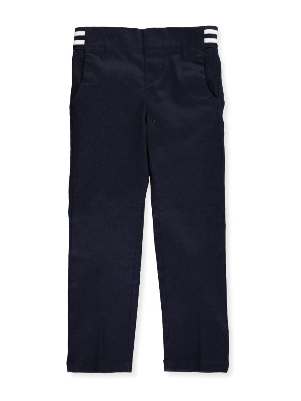 French Toast Little Girls' Pull-On Contrast Waist Pants