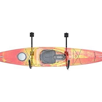 WilTec Soporte Pared Kayak Almacenaje Sujeción Pared Canoa Piragua ...