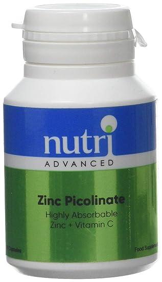 Nutri Advanced Cinc Picolinato - 90 caps: Amazon.es: Salud y cuidado personal