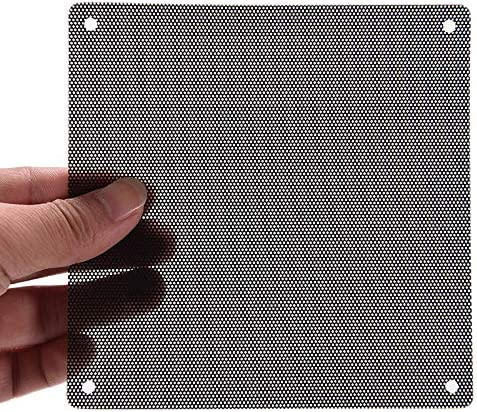 Warmshine 50 Pack 120mm Cuttable Black PVC PC Fan Dust Filter Dustproof Case Computer Mesh