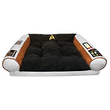 Star Trek Dog Bed   Captainu0027s Chair   Command The Enterprise With Your Dog    S