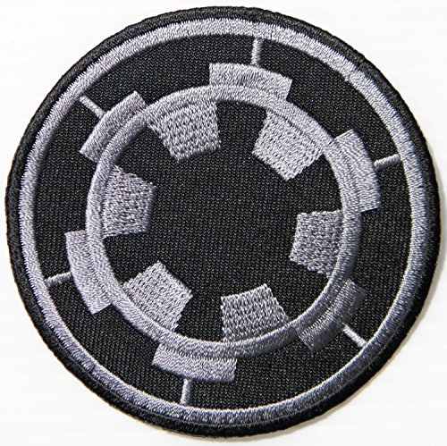 Empire Imperial Forces Target Star Wars Movie Comics Logo Kid Baby Jacket T Shirt Patch Sew Iron on Embroidered Symbol Badge Cloth Sign Costume By Prinya Shop