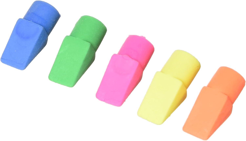 50 Ensembles Fournitures Scolaires Couleurs Assorties Gommes /à Effacer Gommes /à Crayons Crayons Effaceurs avec Capsules de Gomme en Plastique pour Gamins